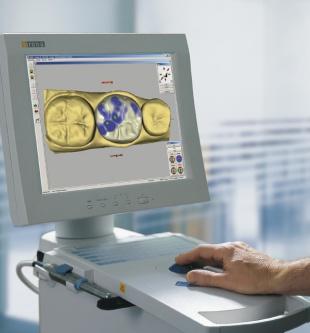 モニター上の3D立体画像で設計